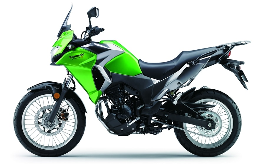 Versys X300 Urban green