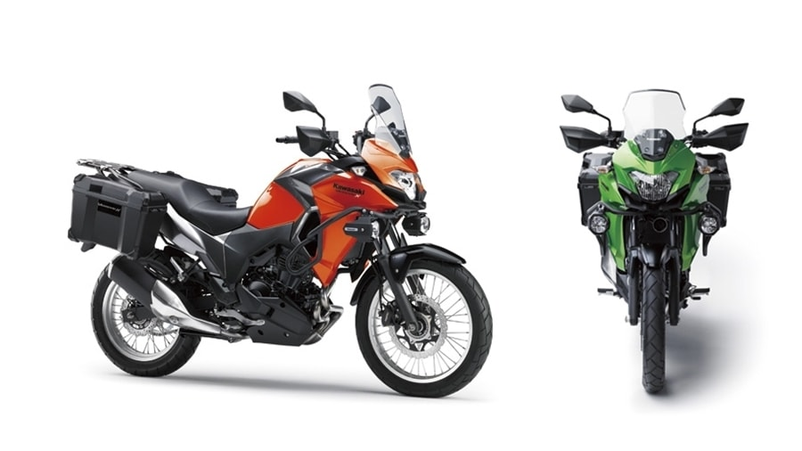 Versys X300 Orange tourer