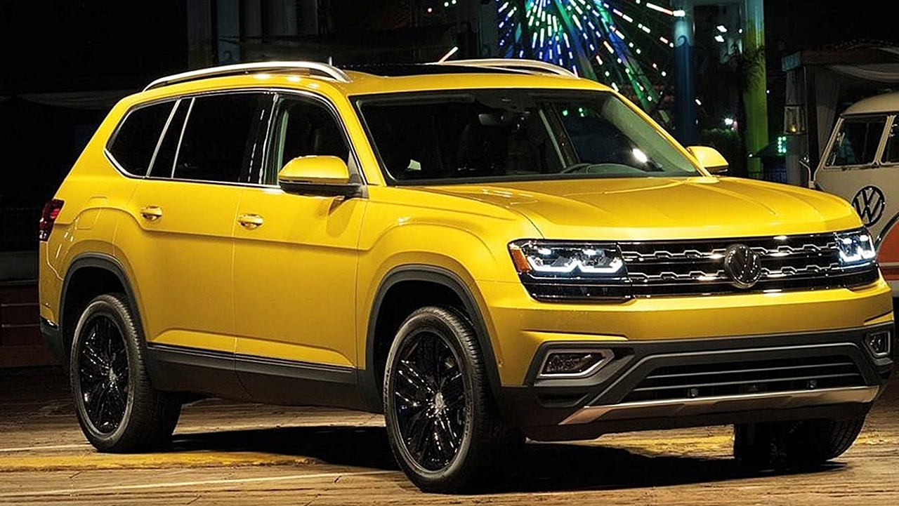 2018 volkswagen atlas price mpg release specs autopromag usa. Black Bedroom Furniture Sets. Home Design Ideas