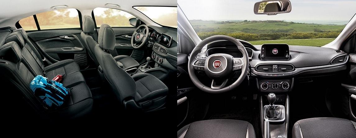 Fiat Tipo hatchback interior
