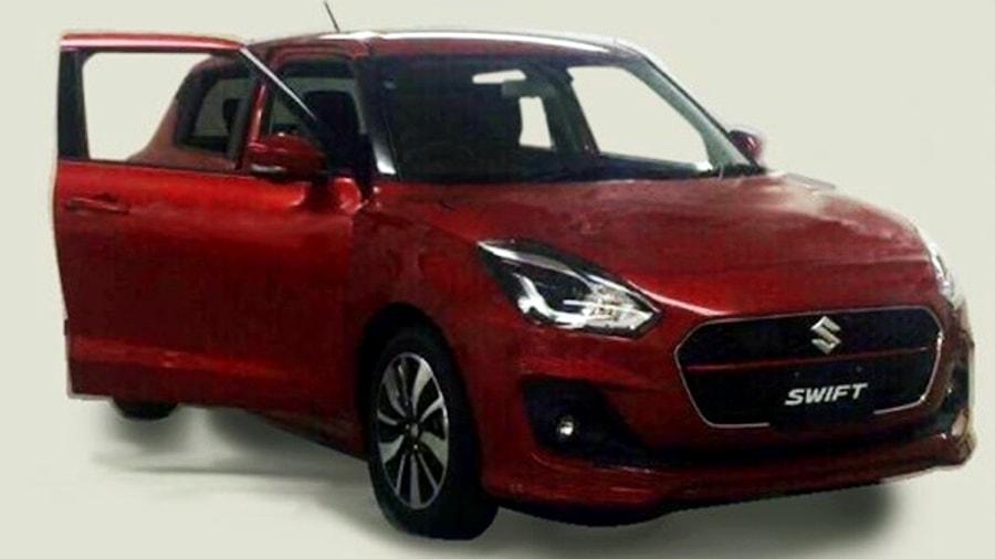 2017 Suzuki Swift red