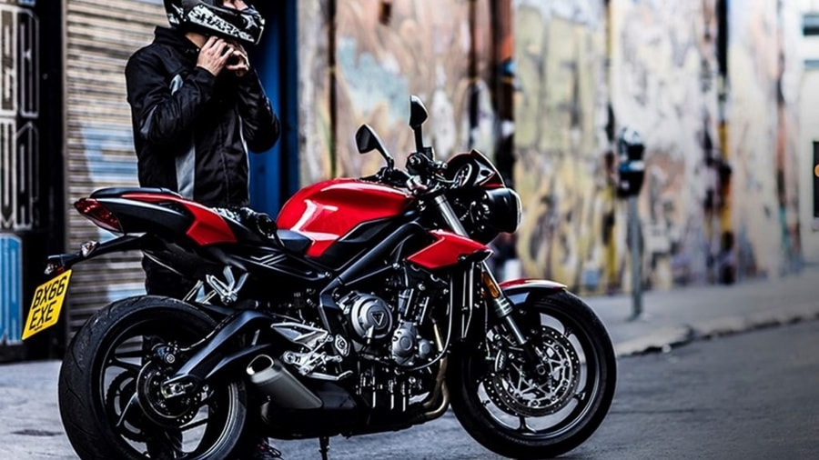 New Street Triple red