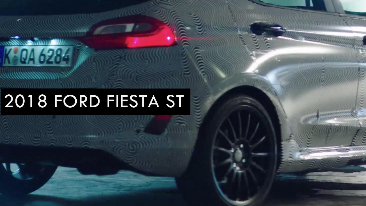 2018 Ford Fiesta ST UK