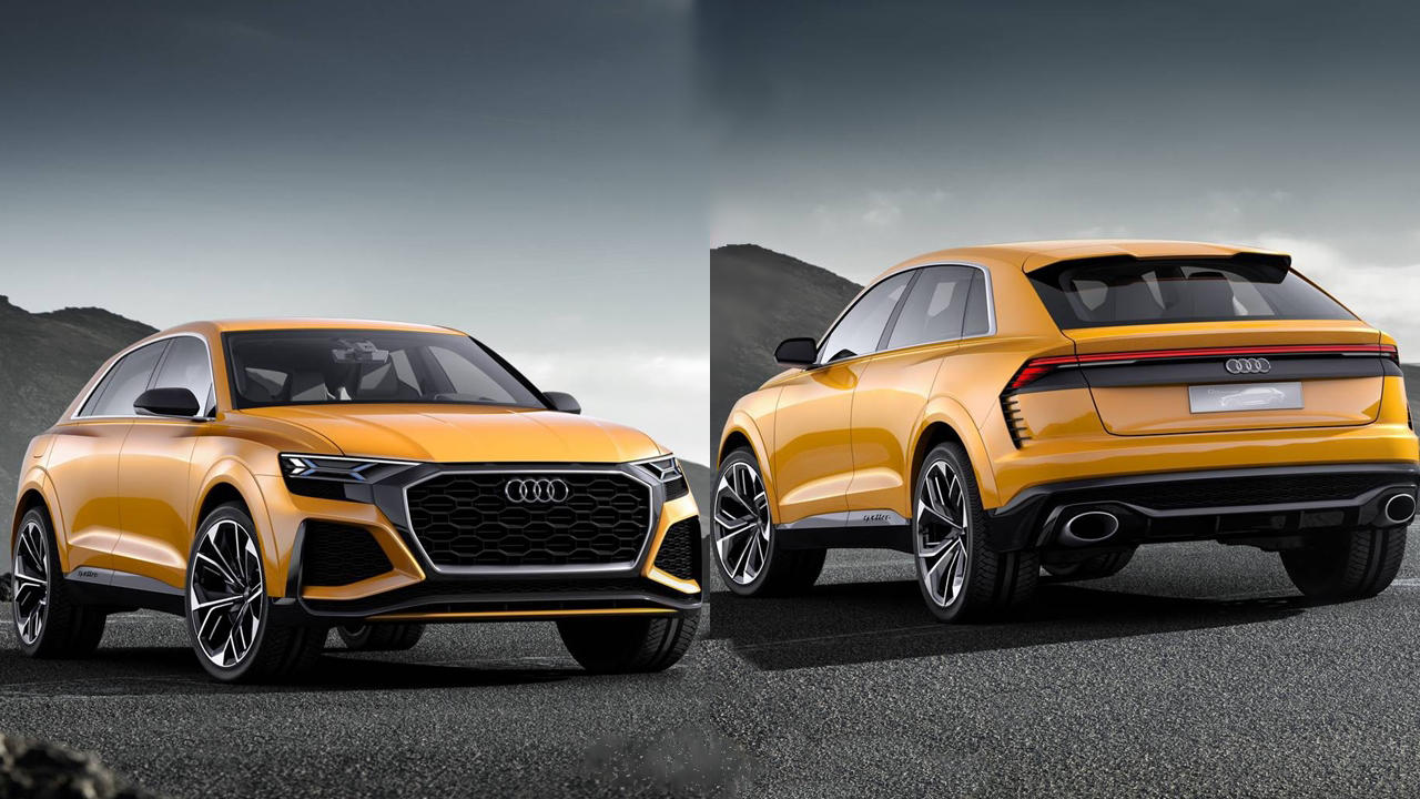 2018 audi q8 spied testing price release specs. Black Bedroom Furniture Sets. Home Design Ideas