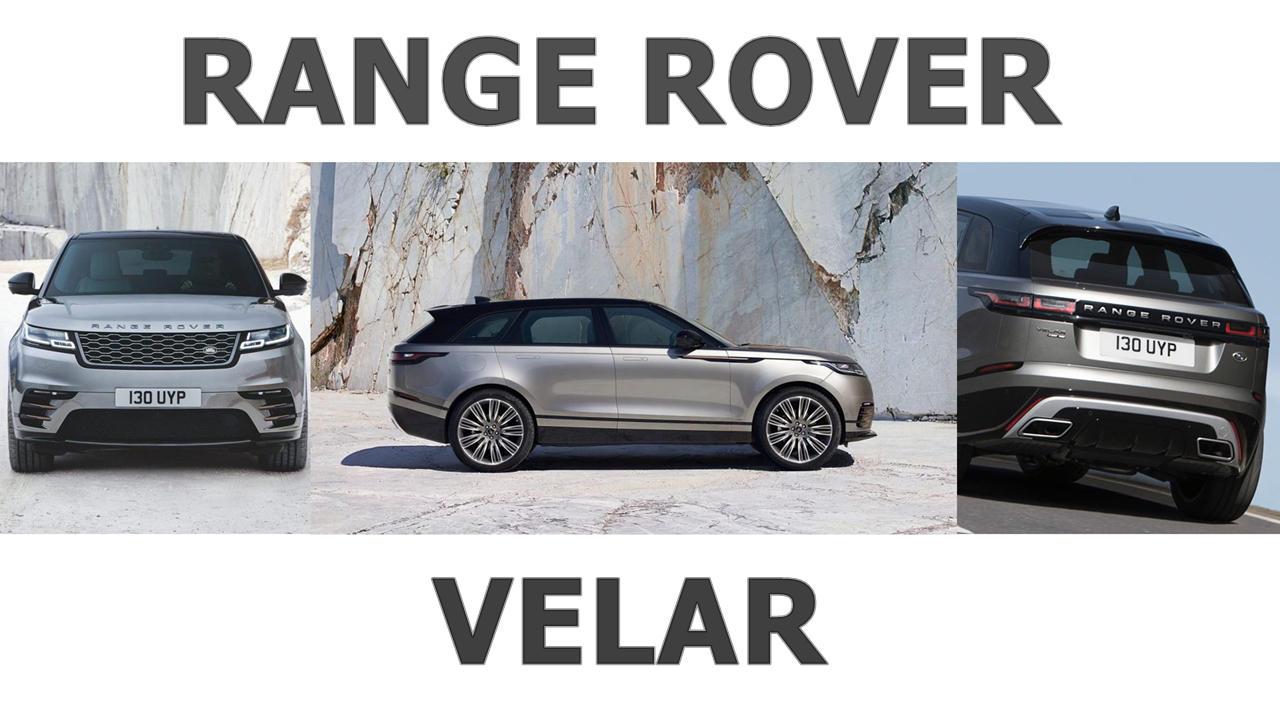 New Land Rover Velar