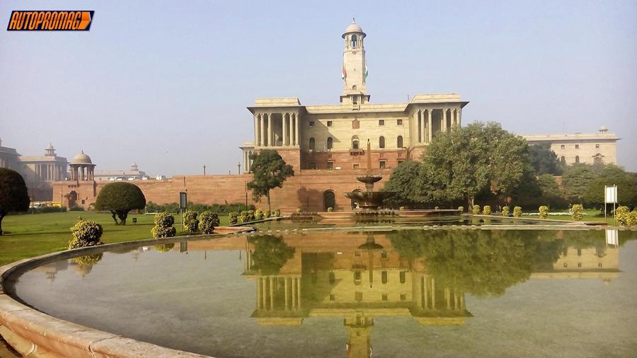 Central secretariate building