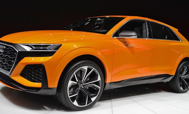 New Audi Q8 sport