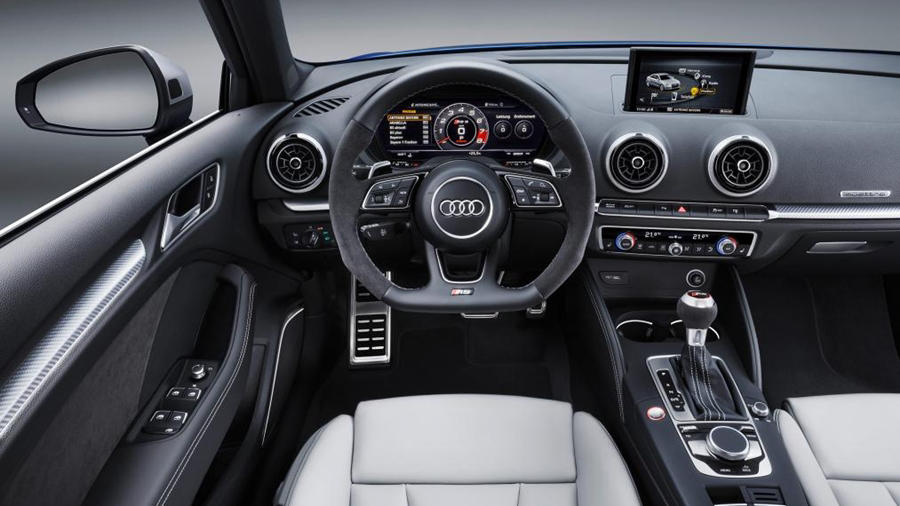 RS3 sport hatch interior