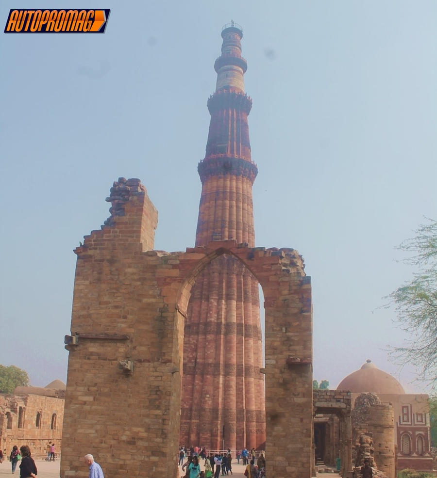 Inside Qutub Minar