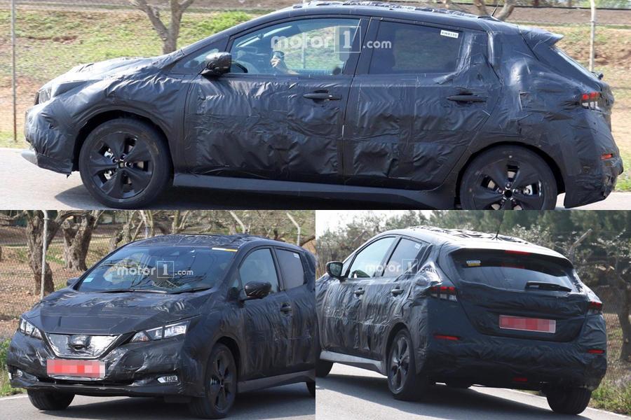 Nissan Leaf spy image