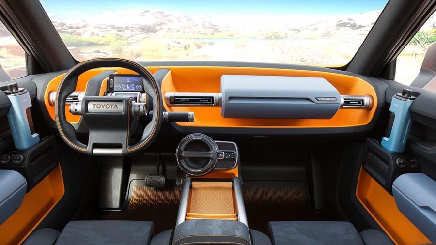 Inside Toyota FT 4X