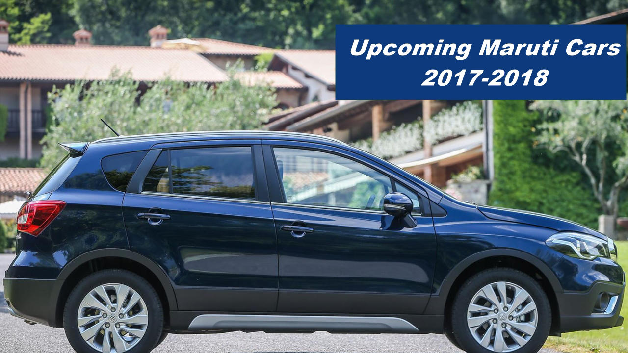 6 Upcoming Maruti Suzuki cars to India in 20172018  Autopromag