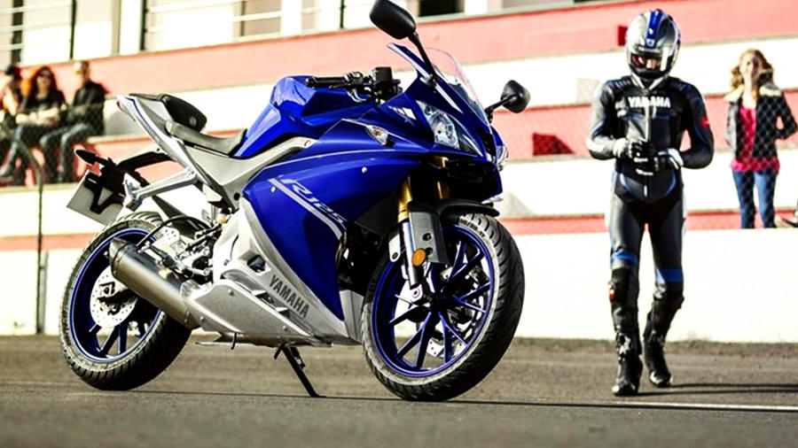YZF-R125 ride track