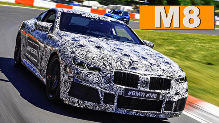 BMW M8 2018 Front
