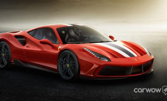 New Ferrari 488 GTO
