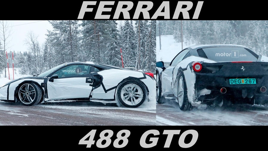 Ferrari GTO 488