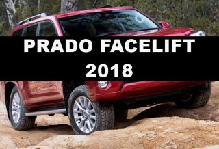 New LC Prado faceift
