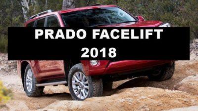 New LC Prado faceift