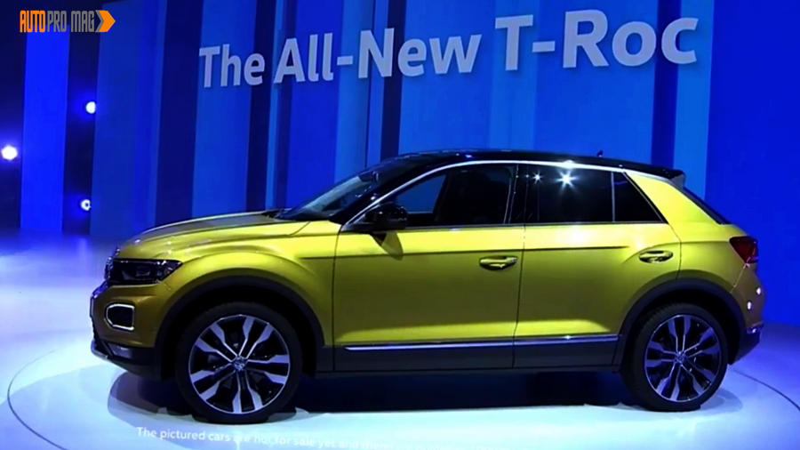 news 2018 volkswagen t roc unveiled autos post. Black Bedroom Furniture Sets. Home Design Ideas