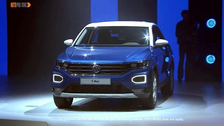 Volkswagen T Roc front blue