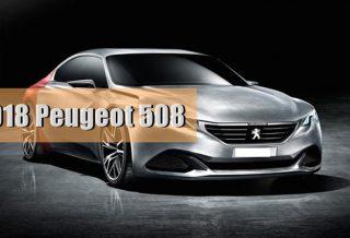 New Peugeot 508 2018
