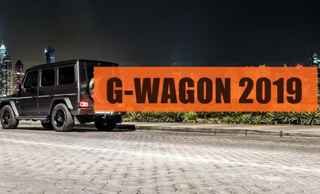 New Mercedes G wagon