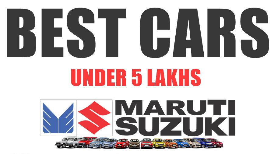 Best maruti car in India