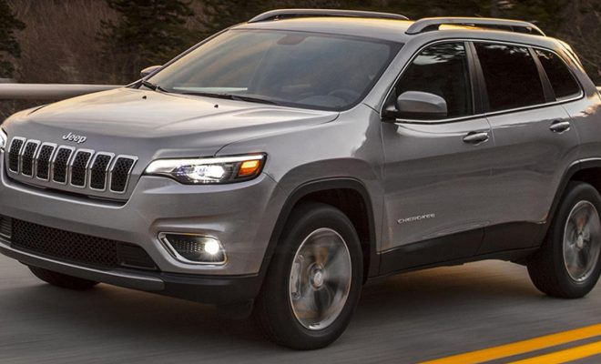 New Jeep Cherokee 2019 facelft