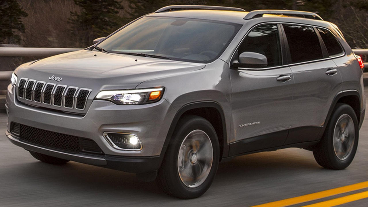 2019 jeep cherokee facelift revealed price release specs autopromag. Black Bedroom Furniture Sets. Home Design Ideas