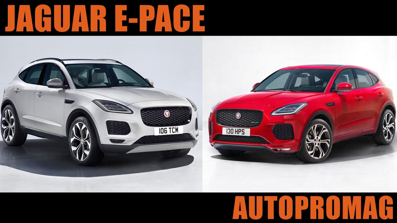 new jaguar e pace revealed price release date images autopromag. Black Bedroom Furniture Sets. Home Design Ideas