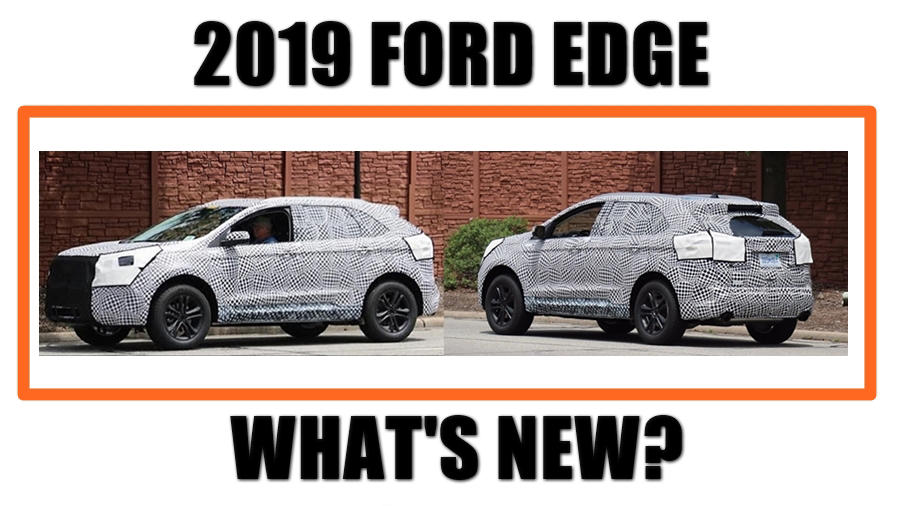 New 2019 Ford Edge redesign