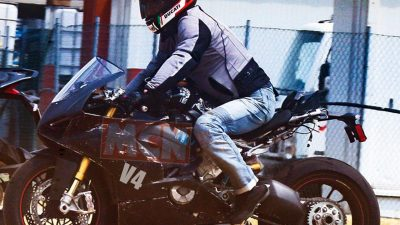 Ducati V4 bike