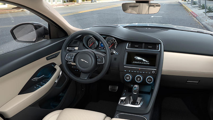 Jaguar E-Pace interior