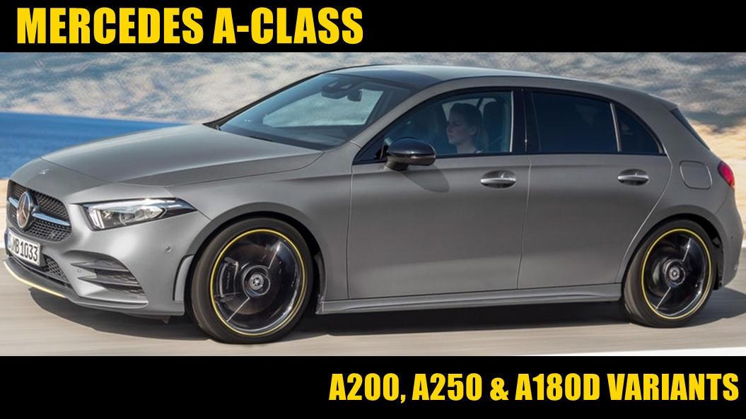 Mercedes A-Class 2018 UK greys