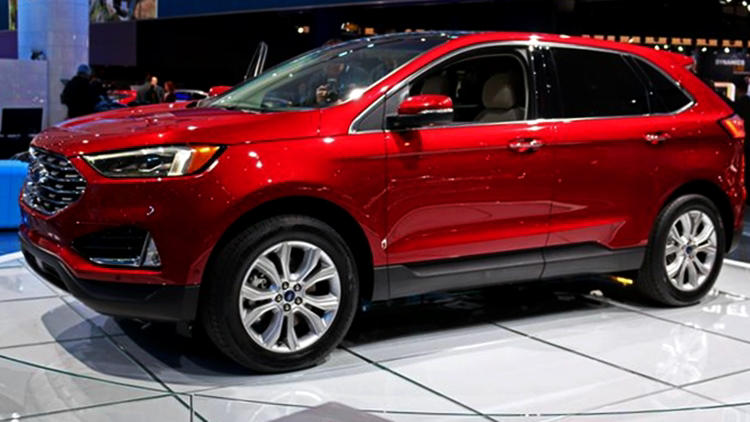 New Ford Edge 2019
