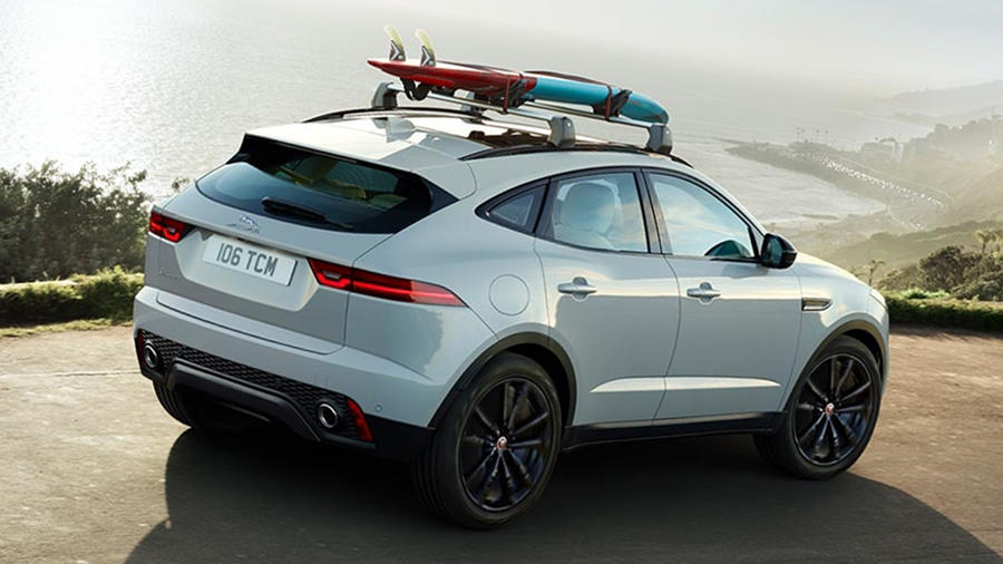2018 Jaguar E Pace rear R