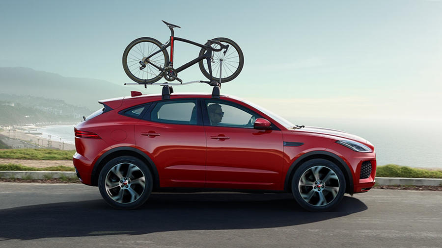2018 Jaguar E Pace side First edition