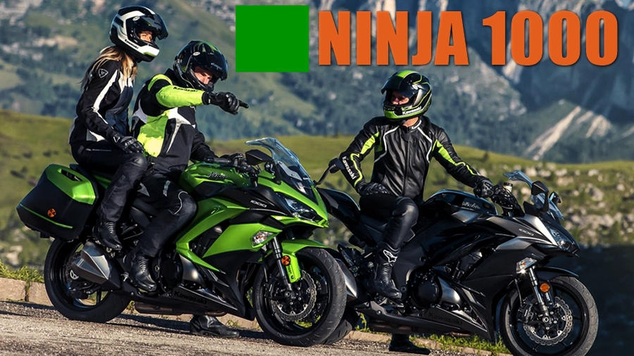 Kawasaki Ninja 1000 2017