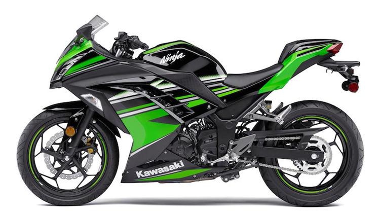 New Kawasaki Ninja 400 KRT colours