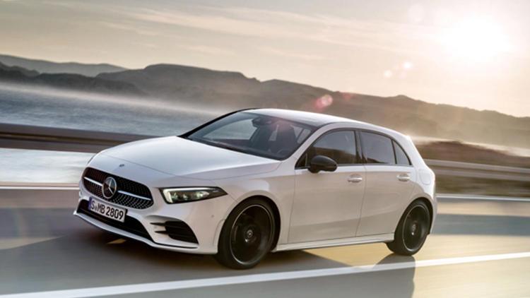 New Mercedes A Class white