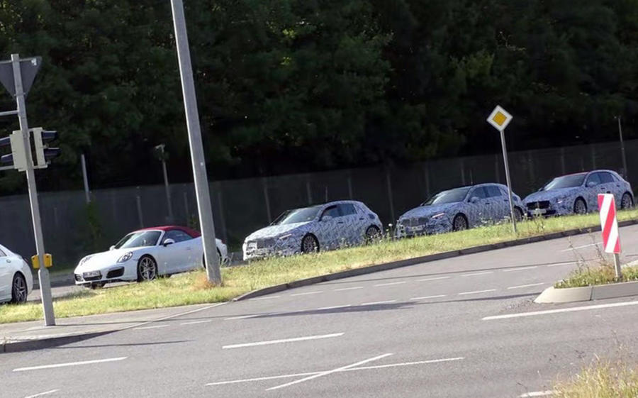 2018 Mercedes A Class & A45 AMG spied [Price, Release] - Autopromag