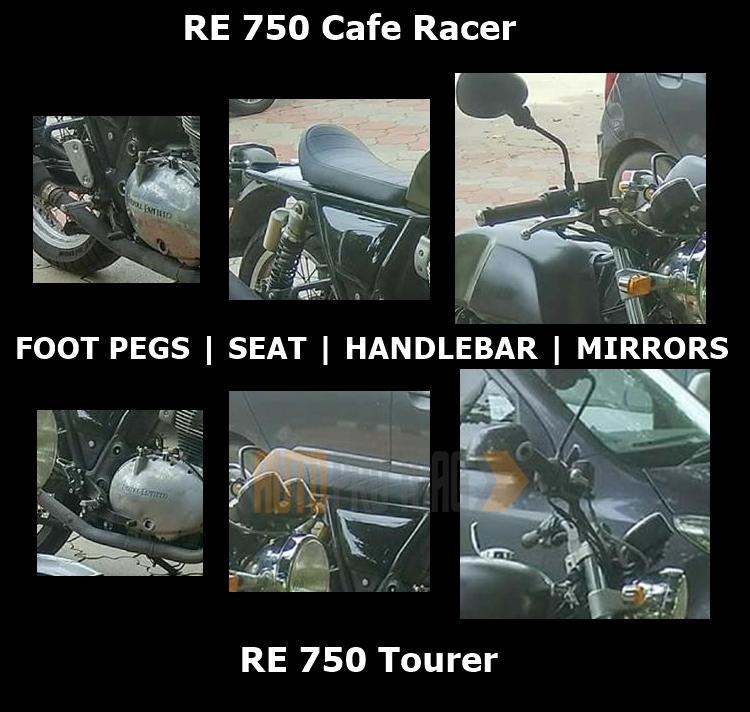 RE 750 variants changes