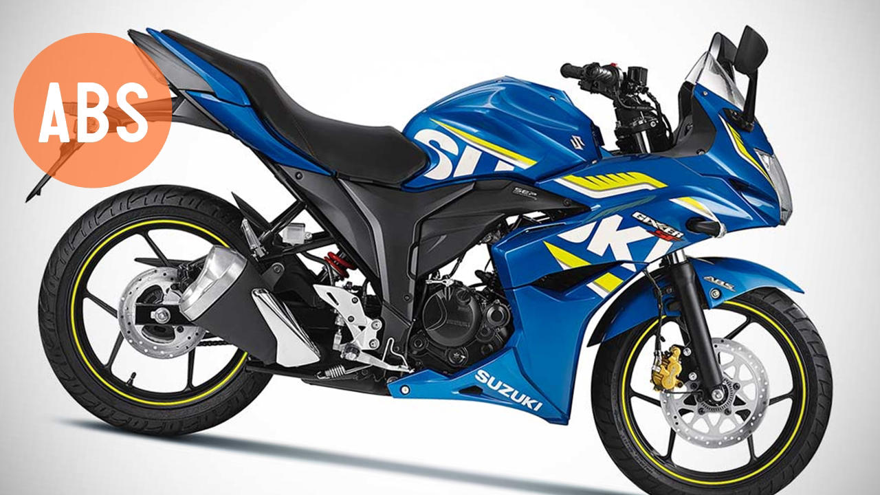 Suzuki Gixxer ABS blue