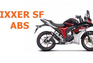 Suzuki Gixxer SF ABS side