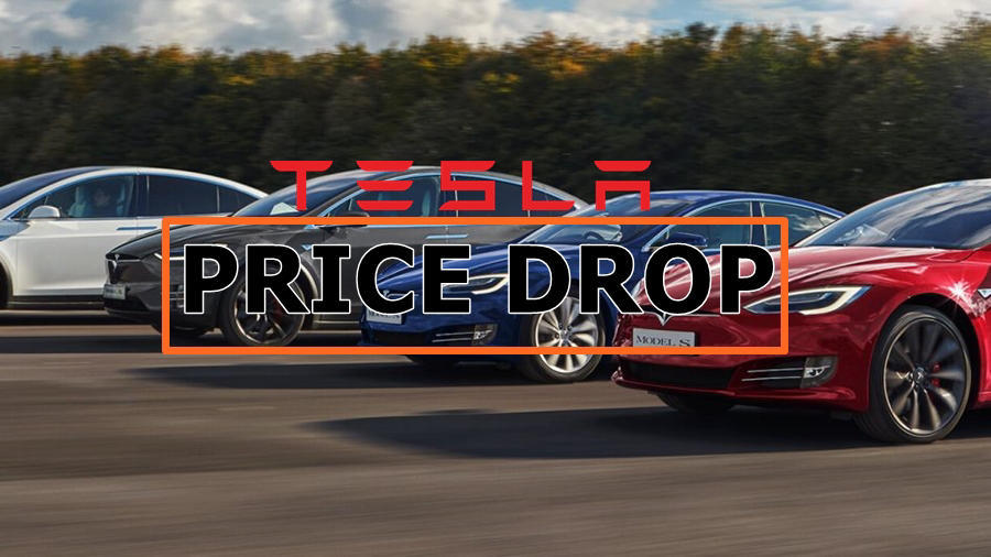 Tesla Model S, Model X price drop