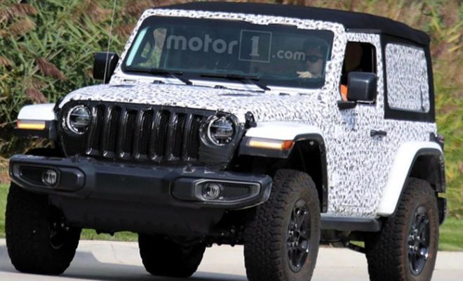 2018 Jeep Wrangler 2 door soft top