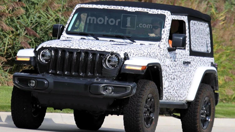 2018 jeep wrangler rubicon soft top spied price release specs. Black Bedroom Furniture Sets. Home Design Ideas