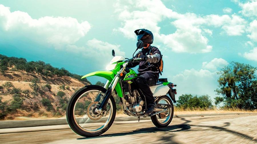 2018 Kawasaki KLX250 off-road ride