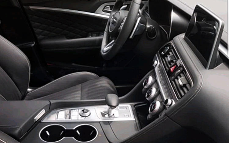 Hyundai Genesis G70 interior