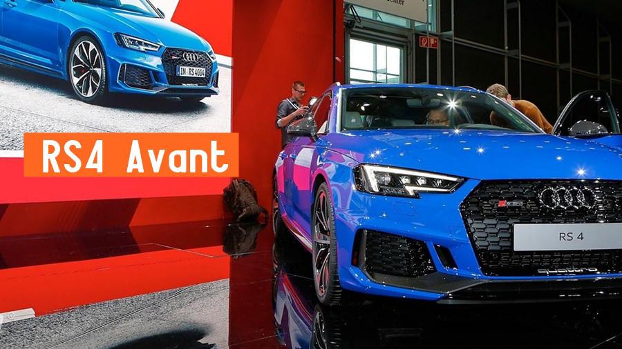 New Audi RS4 Avant 2018